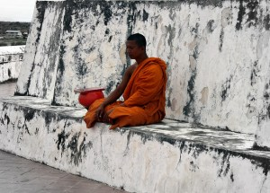 Buddhist monk in Thailand Image Source: Esteban Chiner, Flickr Creative Commons