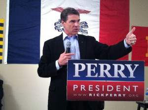 Rick Perry Image Source: WEBN-TV,  Flickr, Creative Commons