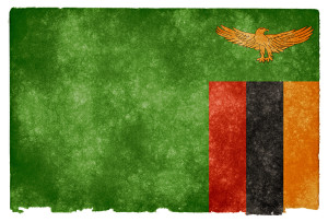 Zambia flag. Image Source: Nicolas Raymond, Flickr, Creative Commons