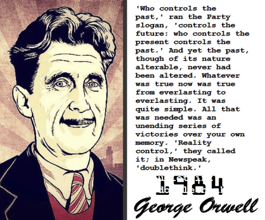 George Orwell - doublethink