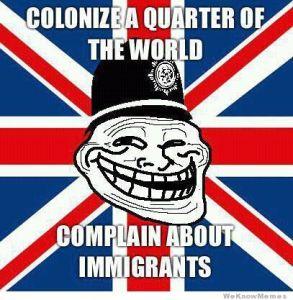 British Immigration Image Source: WeKnowMemes
