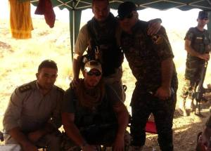 Kurdish brass comes to meet their new team members.
