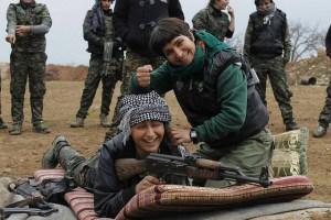 Kurdish YPG fighters Image Source: free kurdistan, Flickr, Creative Commons