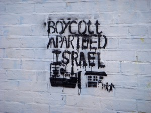 Boycott Israel Image Source: Wall in Palestine, Flickr, Creative Commons