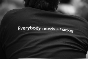 Everybody needs a hacker Image Source: Alexandre Dulaunoy, Flickr, Creative Commons