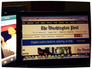 Washington Post Image Source: Esther Vargas, Flickr, Creative Commons