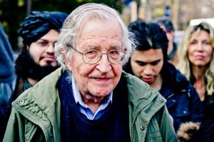 Andrew Rusk, Flickr, Creative Commons Noam Chomsky