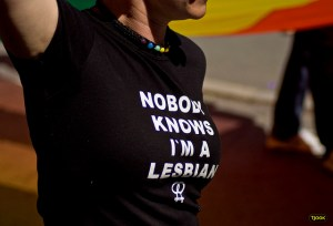 Image Source: Tjook Flickr, Creative Commons Nobody knows I'm a lesbian - shirt