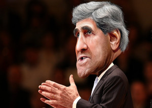 Image Source: DonkeyHotey, Flickr, Creative Commons John Kerry - Caricature