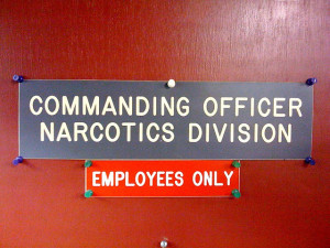 Image Source: Richard Eriksson, Flickr, Creative Commons Commanding Officer Narcotics Division