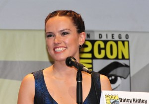 Image Source: Heather Paul, Flickr, Creative Commons Star Wars - The Force Awakens: Daisy Ridley (Rey)