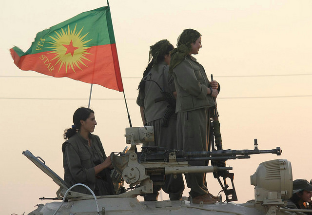 Image Source: Kurdishstruggle, Flickr, Creative Commons Kurdish PKK Guerillas In Shingal