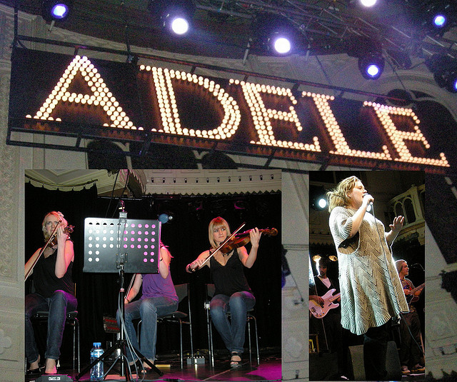 Image Source: Karen Blue, Flickr, Creative Commons Adele - Paradiso Amsterdam 2008
