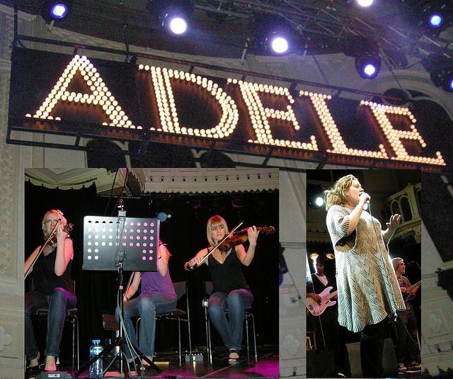 Image Source: Karen Blue, Flickr, Creative Commons Adele - Paradiso Amsterdam 2008