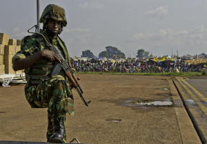 Image Source: US Army Africa, Flickr, Creative Commons Burundi soldiers arrive in Central African Republic