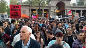 NYC Rise Up and #ShutItDown for Baltimore