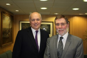 Image Source: Northern Ireland Executive, Flickr, Creative Commons Minister McCausland and Iain Duncan Smith