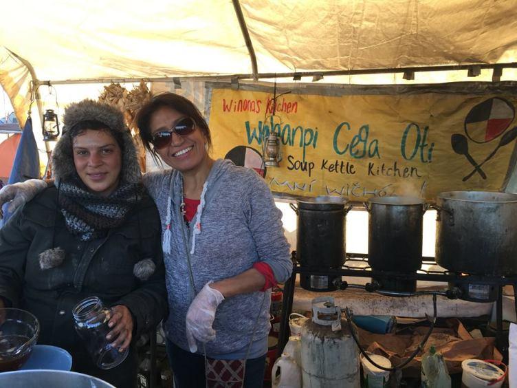 Volunteers at Winona's kitchen - Photo Credit - Debra Cohen