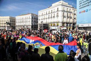 Recorrido bicicleta y concentración protesta caso Chevron en Madrid, CC BY-SA 2.0, https://commons.wikimedia.org/w/index.php?curid=30747306