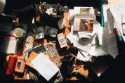 The disaster that is my desk