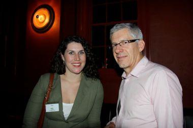 Tess Ariotto, Office of Environment & Heritage (Green Globe Awards manager); Gordon Renouf, chair, Good Environmental Choice Australia