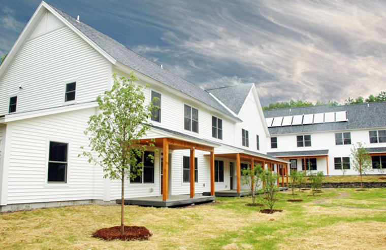 WheelerBrook 18 unit multi-family affordable housing project