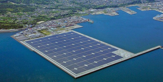 Is floating solar the future?
