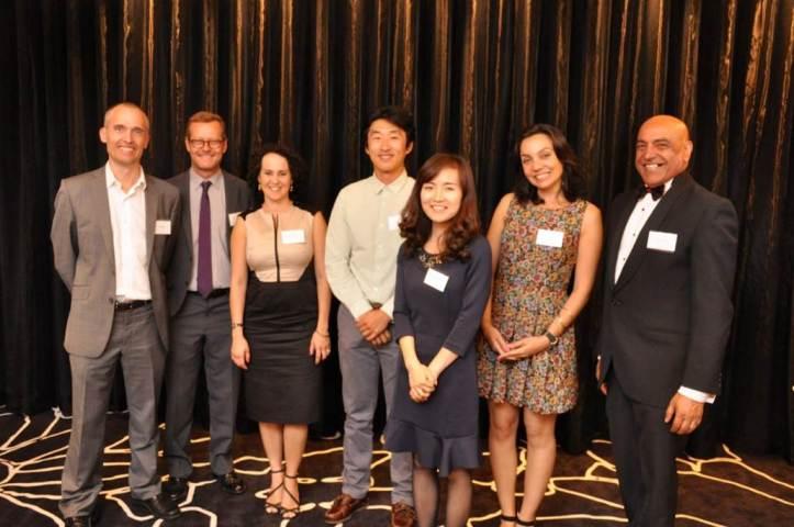 IEQ Lab Team from L to R: Craig Rousssac, Prof Richard de Dear, Dr Christhina Candido, Dr Jungsoo Kim, Jessica (Fan) Zhang, Renata de Vecchi and Ashak Nathwani