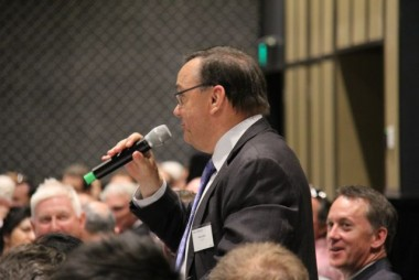Former NSW planning minister Frank Sartor