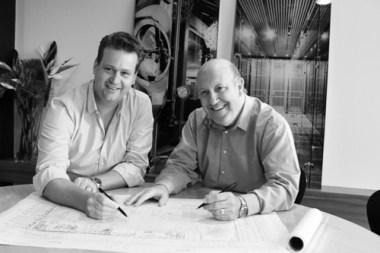 Dajon Veldman (left) and Philip Bowen.