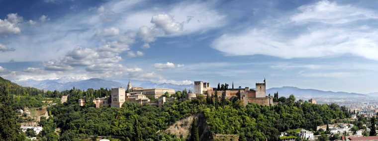 The Alhambra Palace: earthy, but classy.  Mihael Grmek