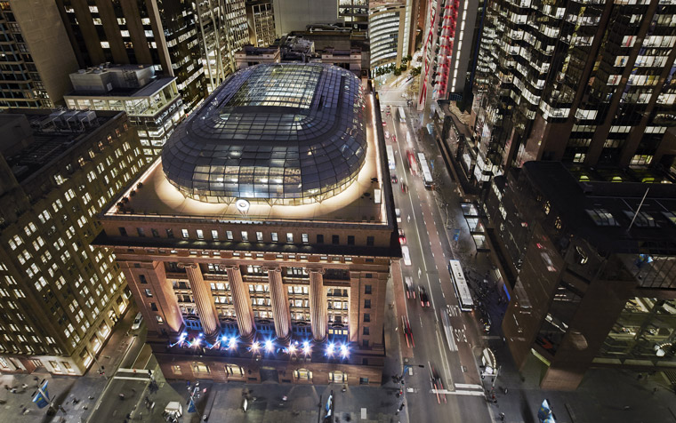 50 Martin Place. Image: Peter Bennetts