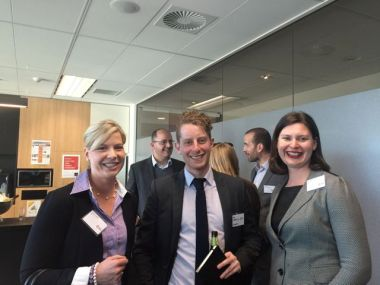 Claire Tucker, NSW Office of Environment & Heritage; Ian Lieblich, Investa; Katie Dean, Green Building Council of Australia