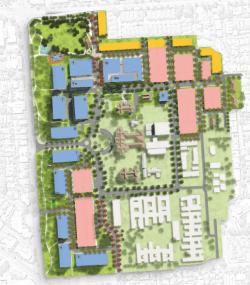 Proposed Glenside development (image take from Glenside preliminary masterplan)