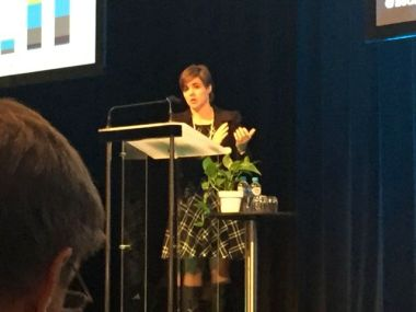 Cath Bremner from ANZ who spoke on green bonds