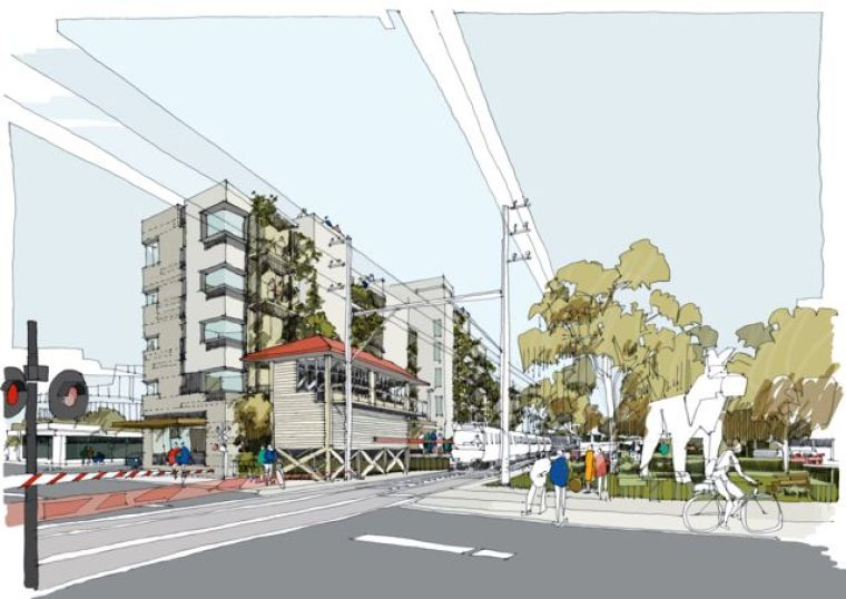 View of Nightingale 2.0 in Melbourne's Fairfield