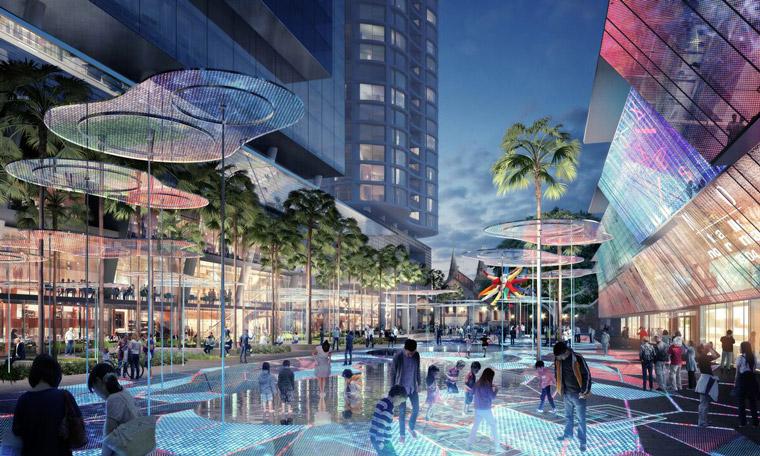Parramatta City Centre concept design