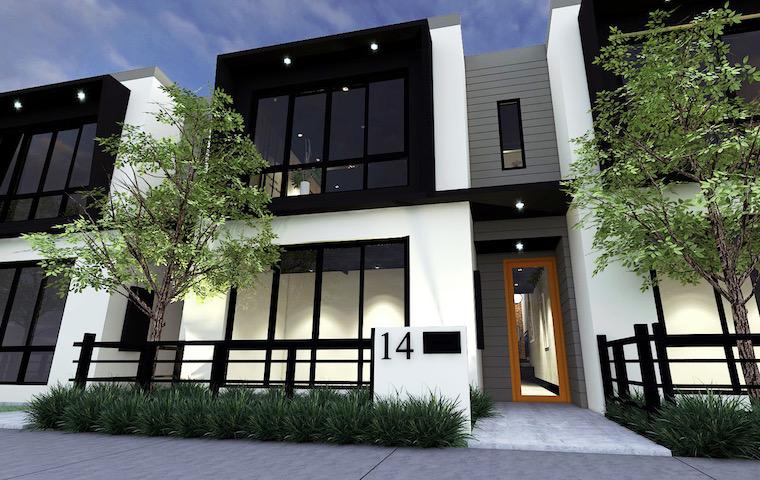 illustration of new Perth development the amble