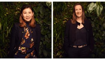 new hires for Australian ethical, Australian ethical Quyen Dam, Joanne Robb pictured
