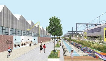 Artist impression of NSW renewal project