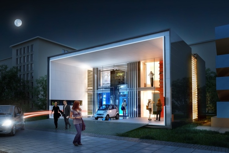 electric home future house