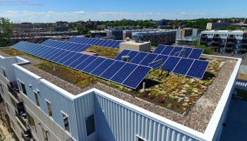 solar roof on apartments strata