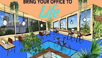 healthy office illustration