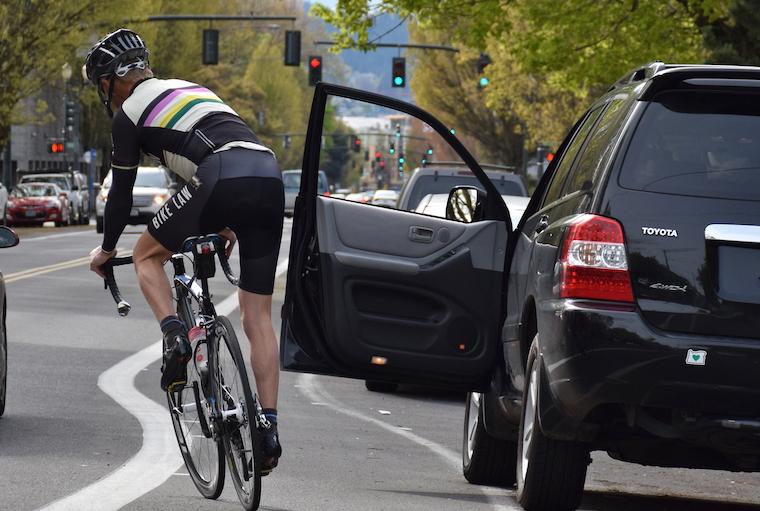 cyclist bike dooming