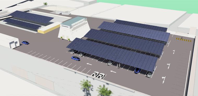 Leichhardt Shopping Centre solar car park