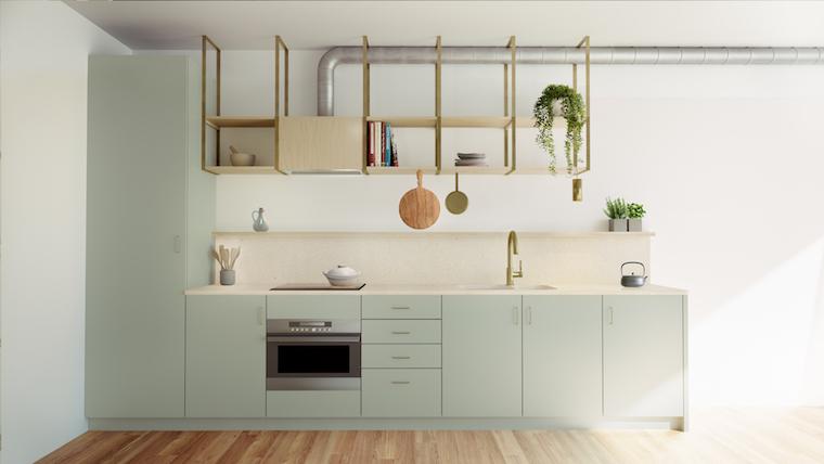 The Commons Hobart kitchen interior