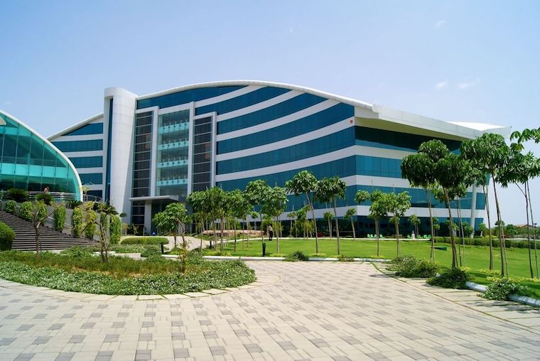 Infosys office in Hyderabad, India