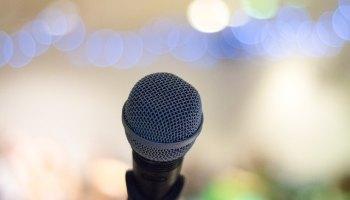 Tomorrowland 2018 microphone