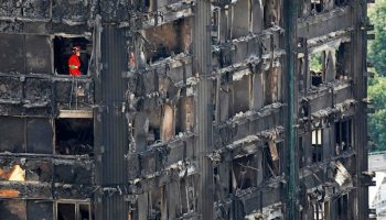 flammable cladding apartment