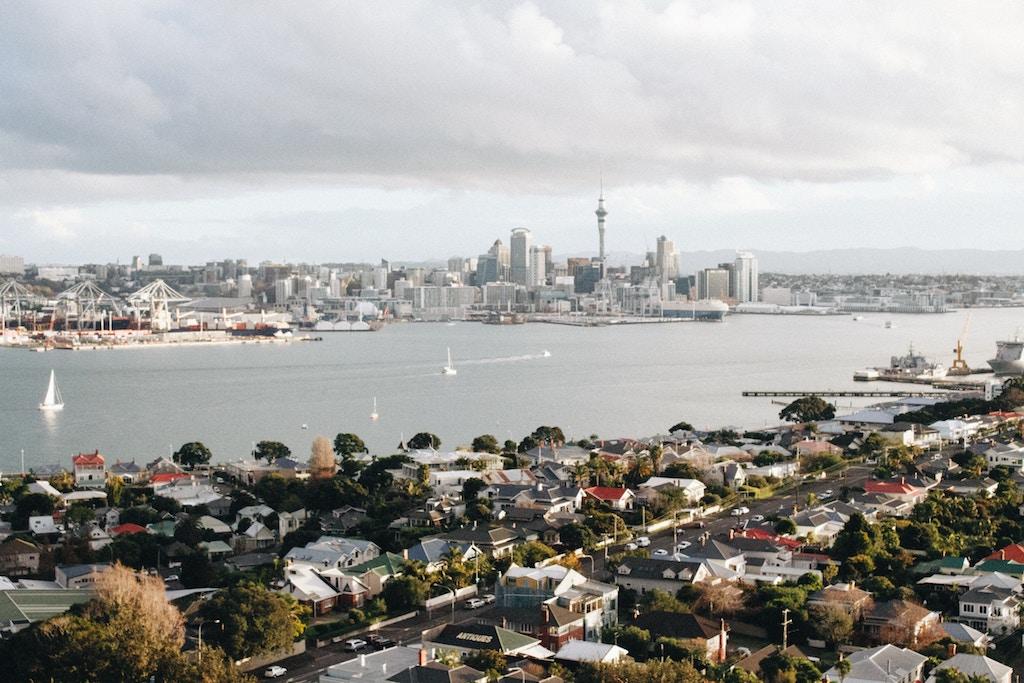 New Zealand cityscape